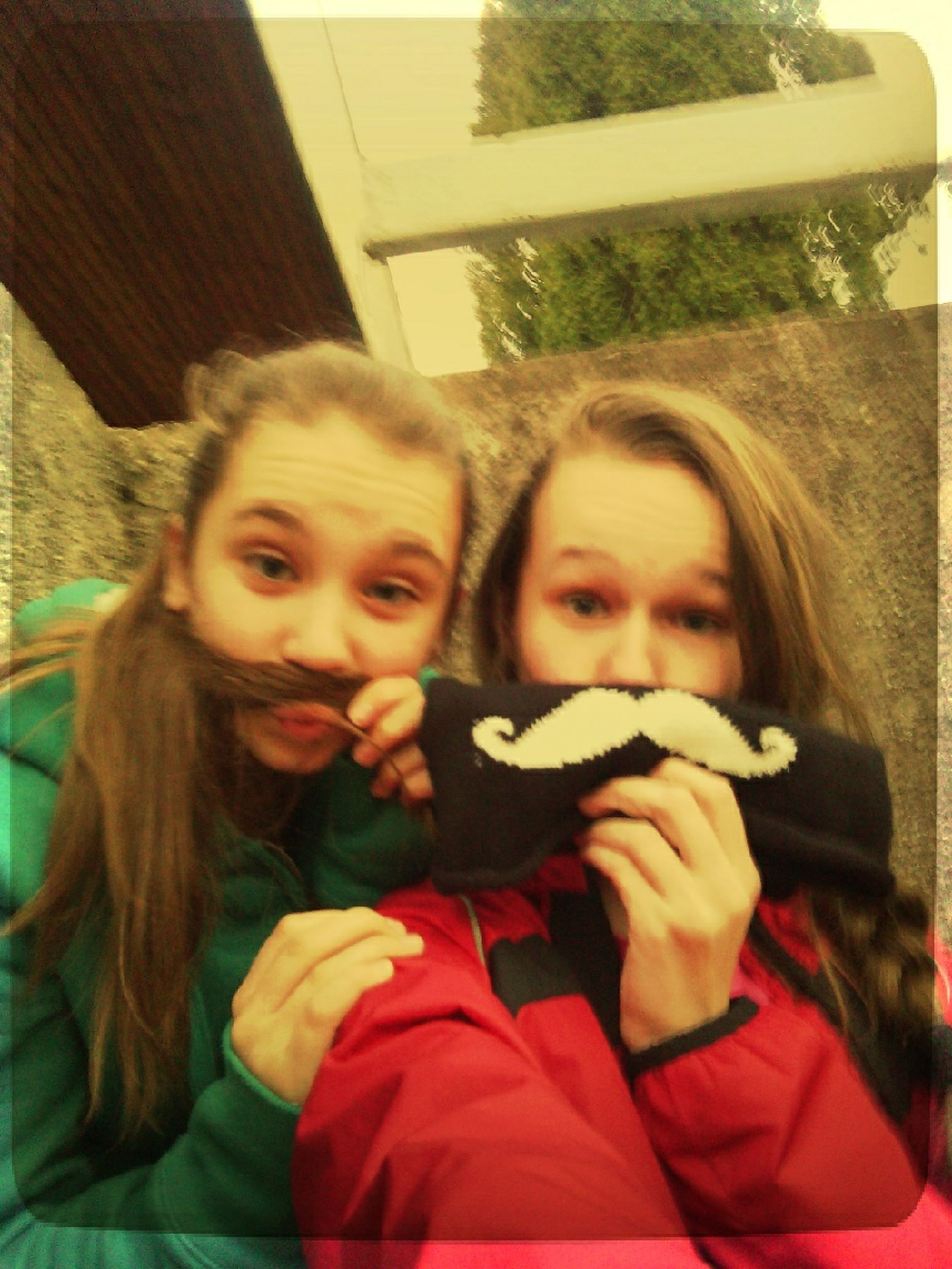 Oldpicture Taking Photos Summer Holidays Friends ❤ Sunnyday☀️ Hello World Smile ✌ Moustache.. *.*