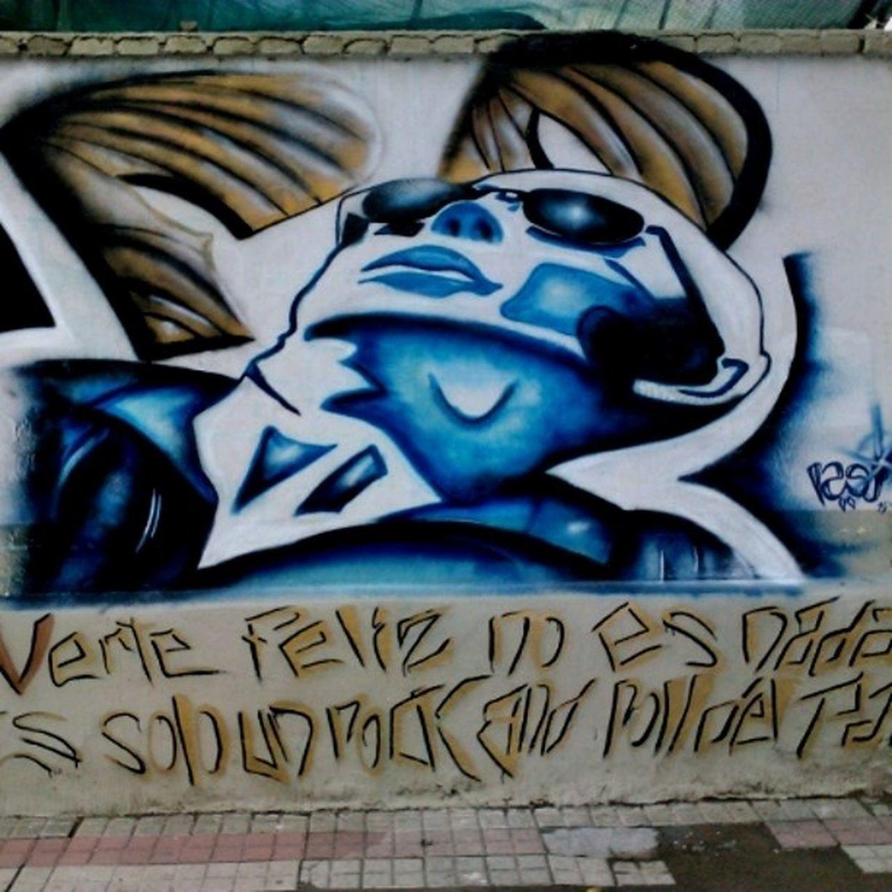 IndioSolari Redondos Graffiti Mural Patricio Rey