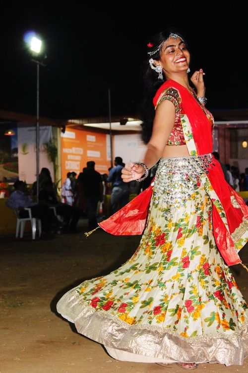 The Culture Of The Holidays Traditional Culture Traditional Costume Navratri2016 Festival Fever Garba Festive Season Festival Of Lights Indian Culture  Indian Festival