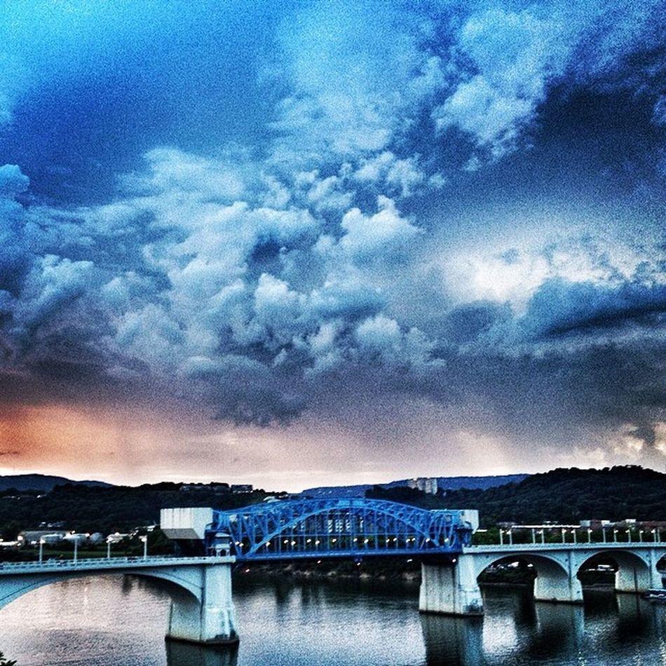 Stormy sunset Suicidalclouds Marketstbridge