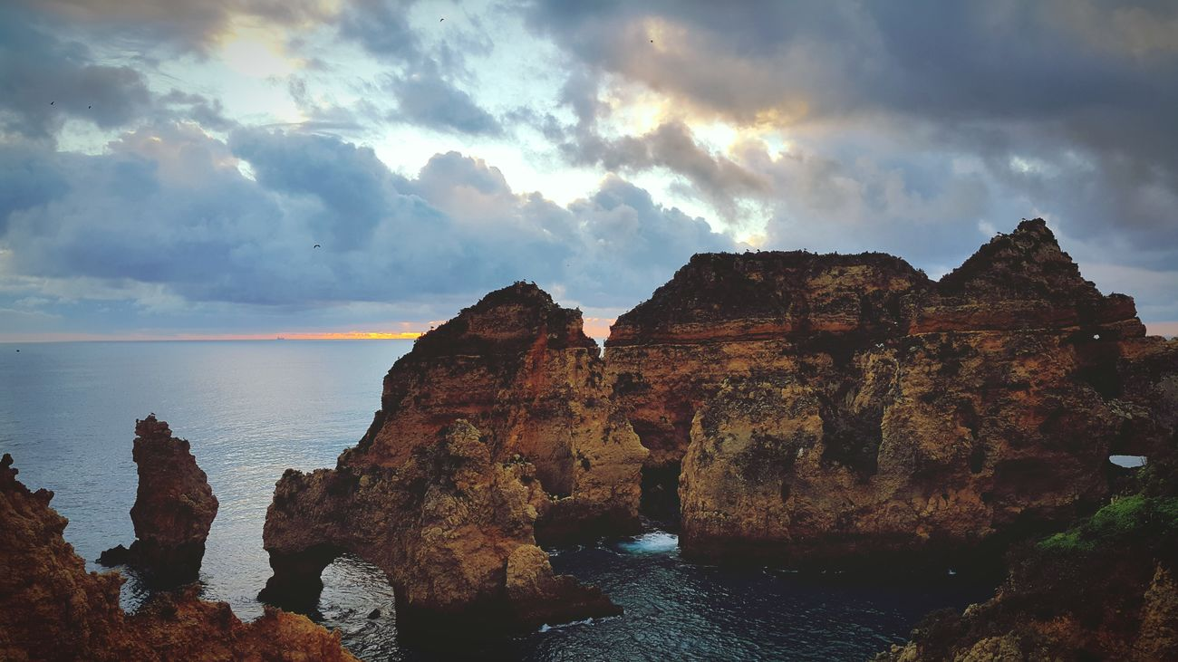 Ponta Da Piedade Portugal Nature Traveling Europe
