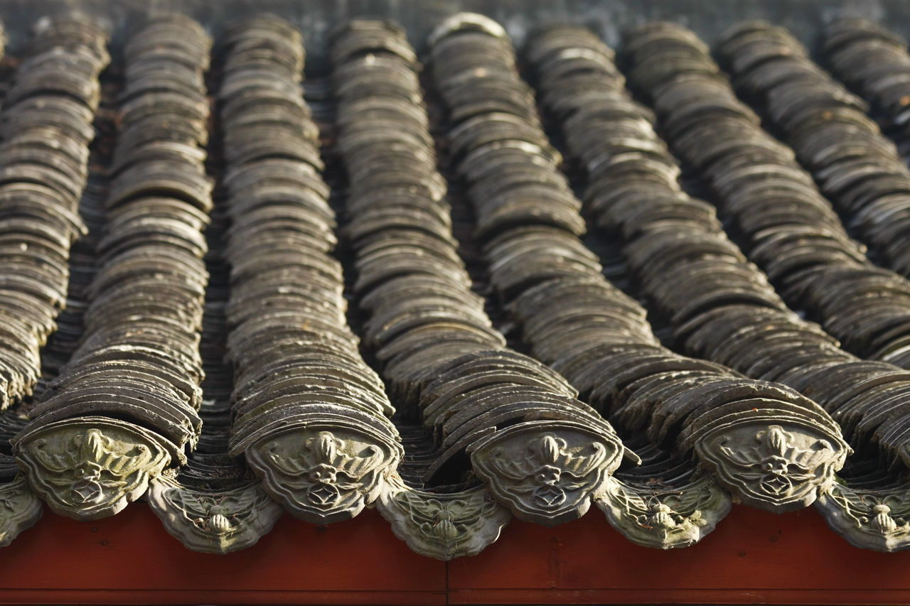 BEIJING北京CHINA中国BEAUTY China Chinese Chinese Culture Close-up Day Dragon No People Old Old Style Outdoors Roof Roof Tile Rooftop Shingle Shingles