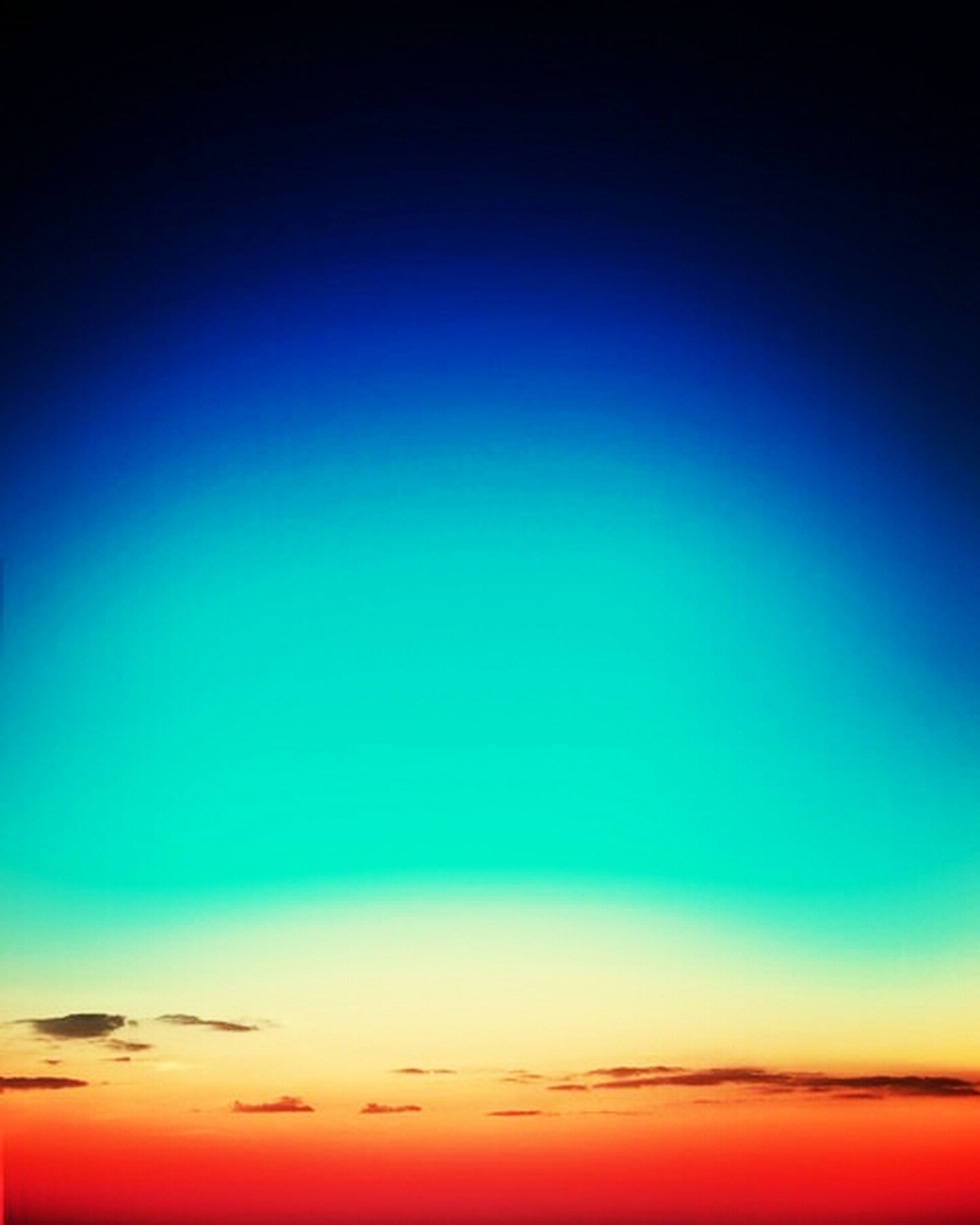blue, scenics, copy space, sunset, beauty in nature, low angle view, tranquility, tranquil scene, sky, nature, sky only, backgrounds, idyllic, orange color, majestic, dusk, no people, outdoors, clear sky, full frame
