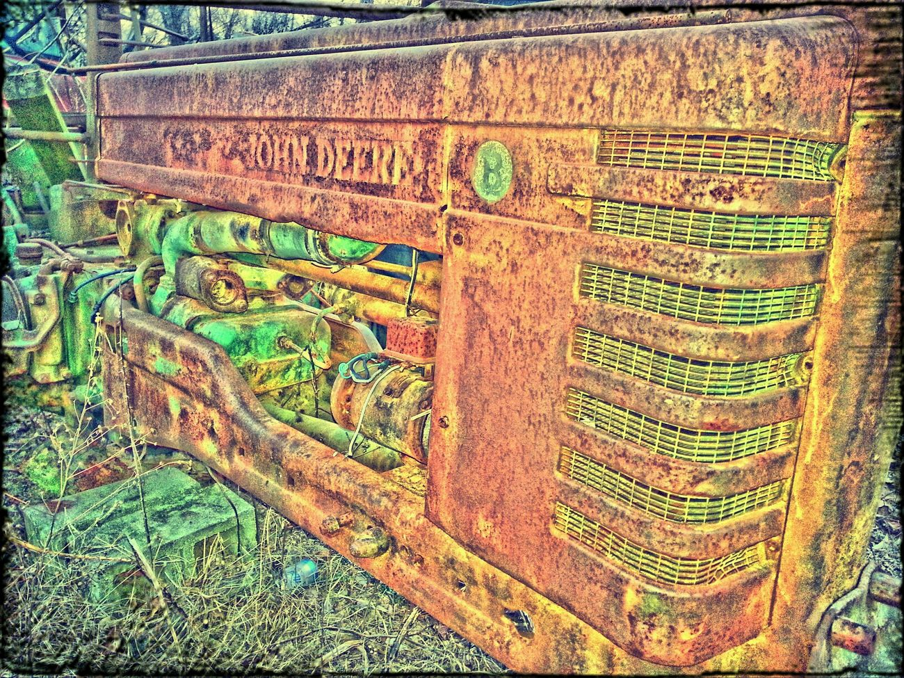 EE_Daily: Orange Tuesday Rustygoodness RustyLicious Old Tractors