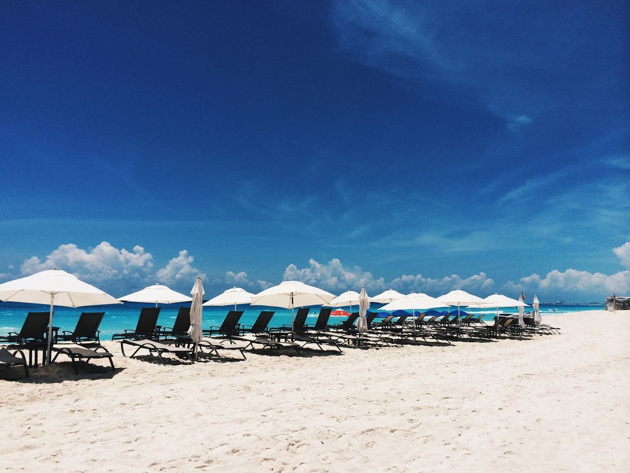 Beautiful stock photos of mexico, Beach, Clear, Deck Chair, Destination
