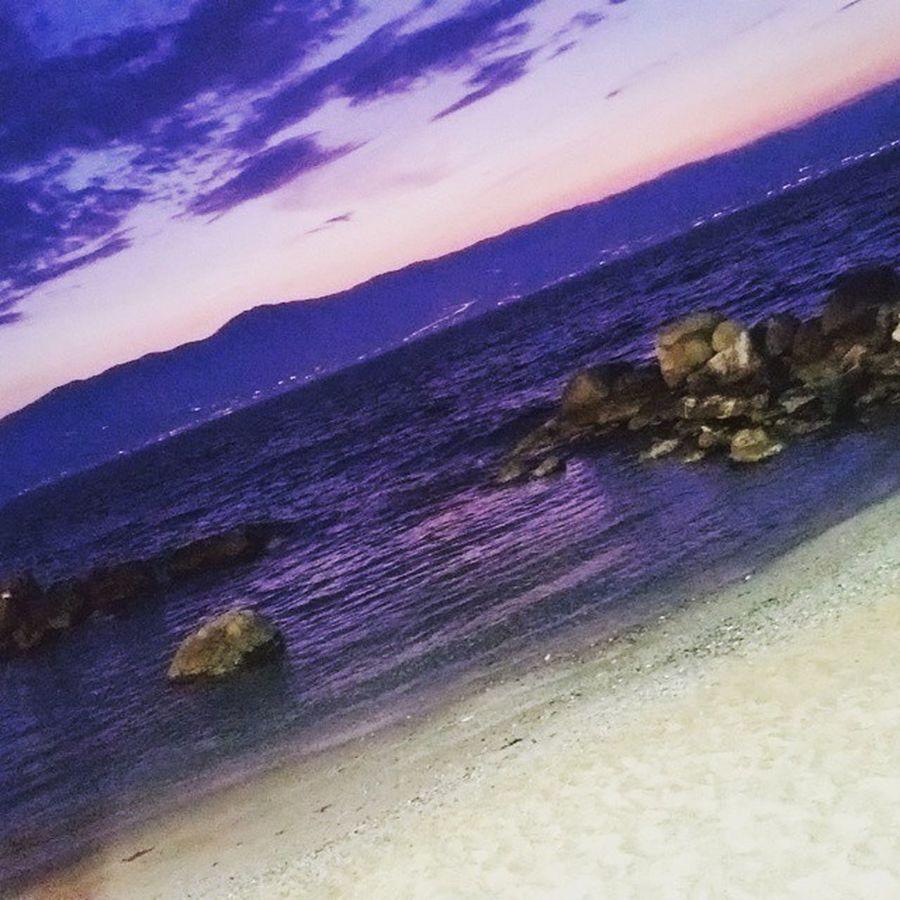 Mare Sera Pizzeria Tempietto Sea Belleserate ReggioCalabria Spiaggia Instagram Instalove 🎈👻