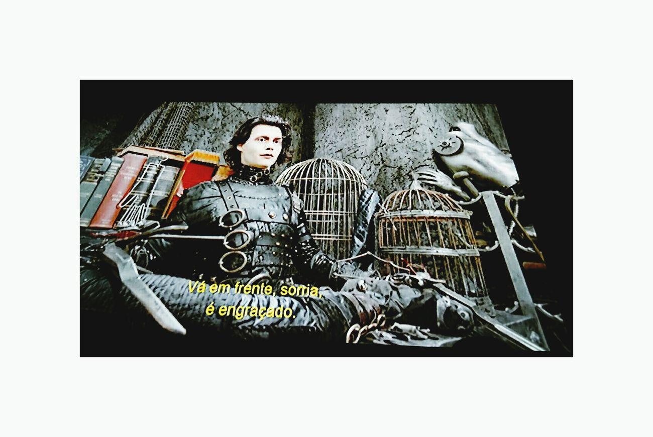 Edward Mãos de Tesoura! Johnny Depp Cinema Cineaoarlivee Friendship Pinheiros