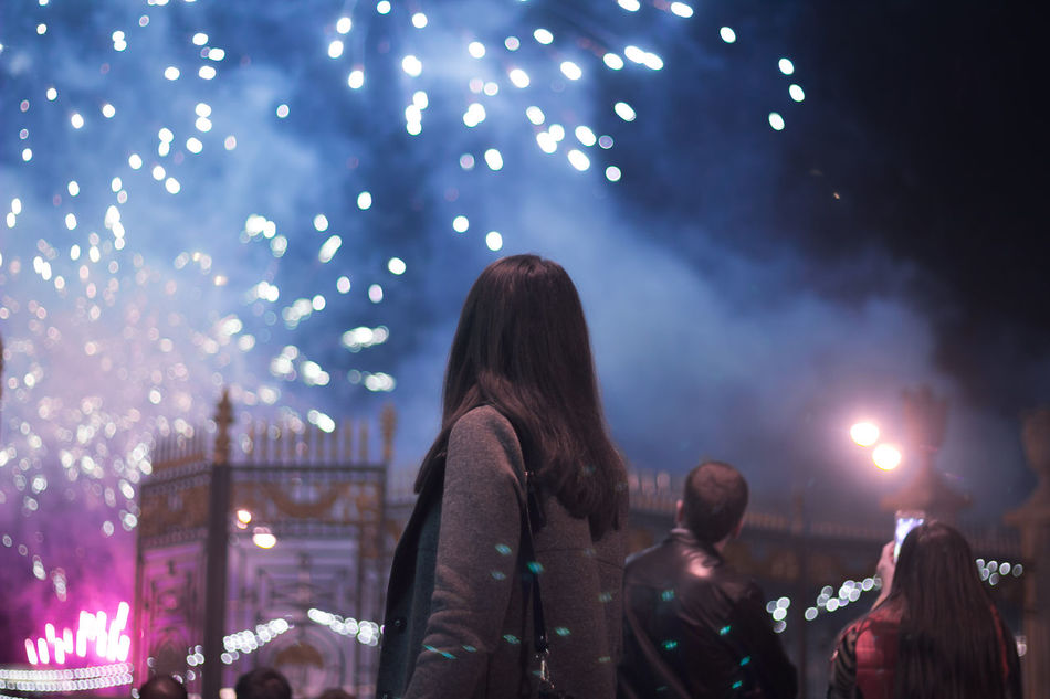 Celebration Day Of The City Enjoyment Exploding Firework Glowing Its Me Memories Night