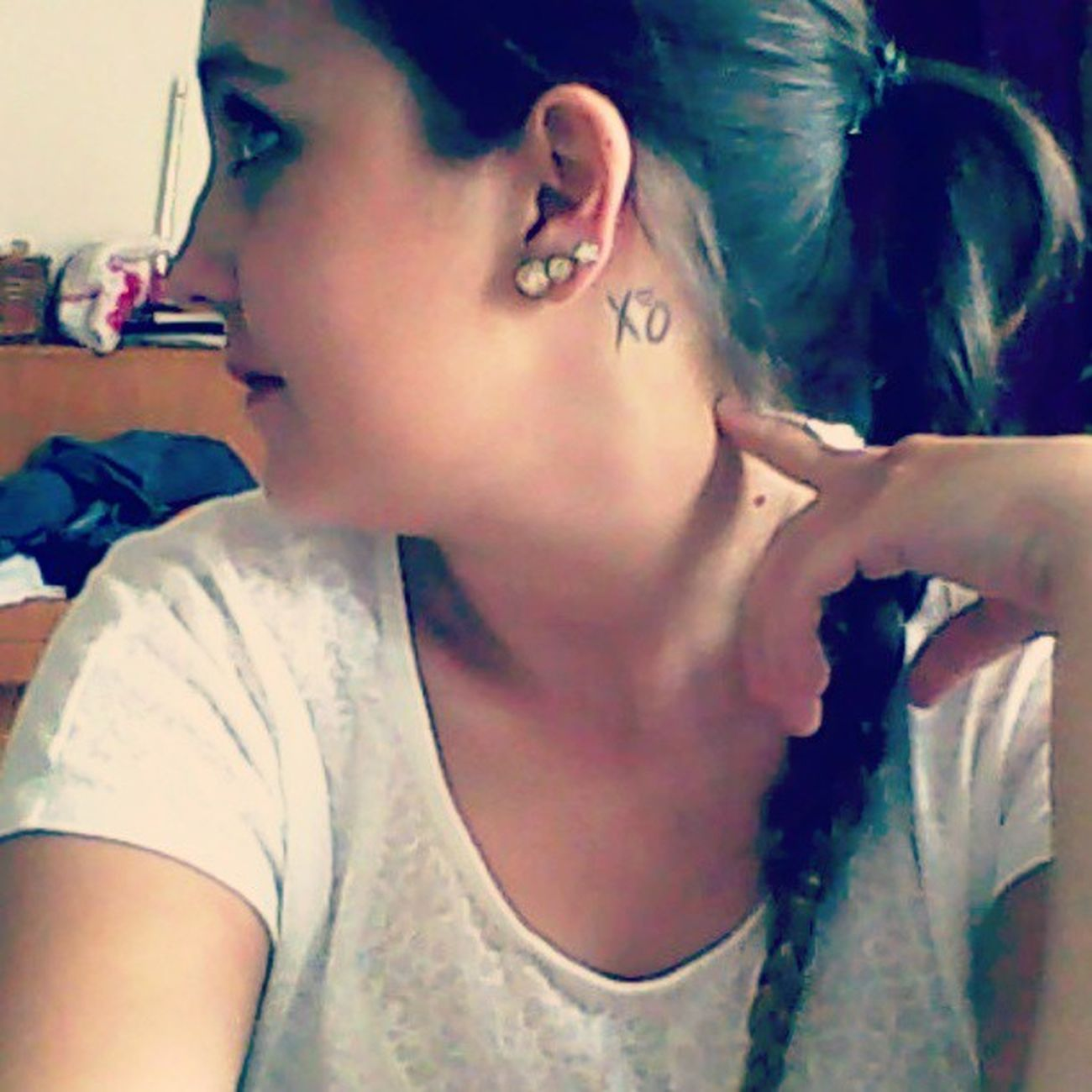 I just love my frickin' tattoo. Yesitsbecauseofyouandyouregonnabethereforever .