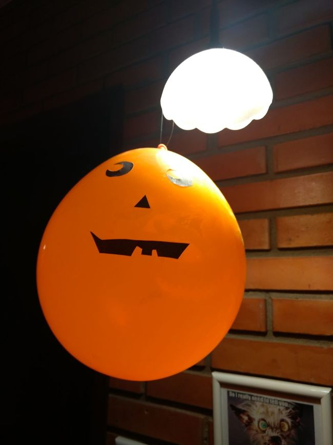 Halloween Balloon Canada Party Witch Vampire Monster Typical Light Lightbulb