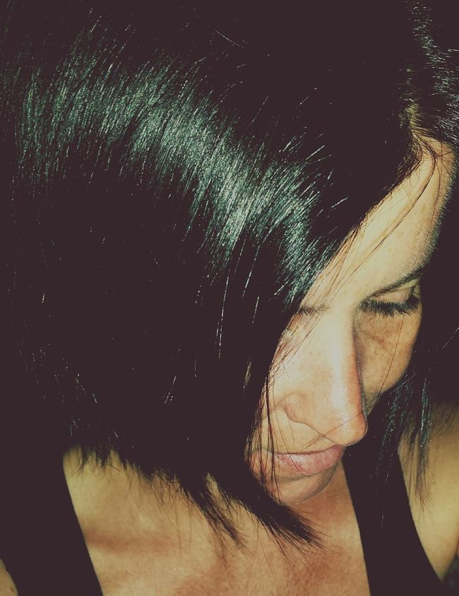 Frau That's Me Woman Thinking Sadness Sad Being Sad In Gedanken Thinking Of Traurig Traurigkeit