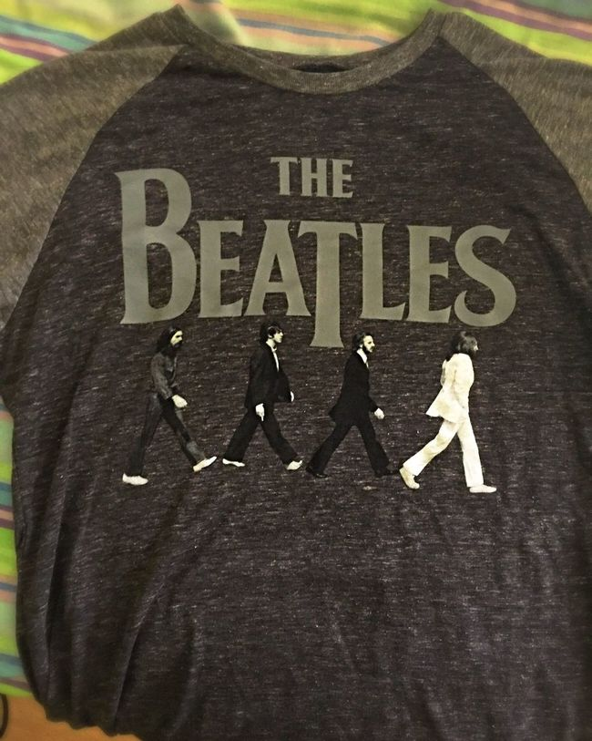 Loveit Bandshirt Thebeatles First Eyeem Photo Teeshirt ❤