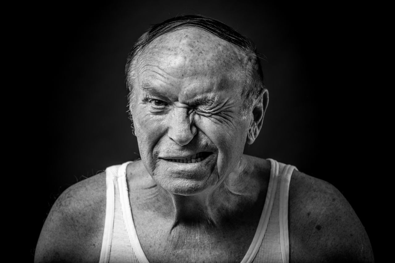 Adult Black And White Black Background Blackandwhite Close-up Headshot Human Face Looking At Camera Man One Man Only One Person People Portrait Portrait Photography Portraits Senior Adult Senior Men Studio Photography Studio Shot BYOPaper! The Portraitist - 2017 EyeEm Awards