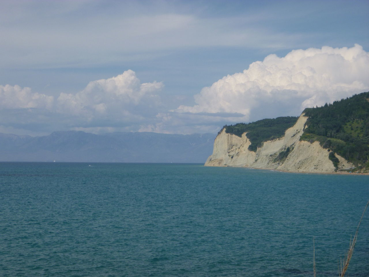 Beauty In Nature Blue Cloud Cloud - Sky Cloudy Coastline Day Horizon Over Water Mountain Nature No People Non Urban Scene Non-urban Scene Ocean Outdoors Remote Rippled San Stefanos, Corfu, Greec Scenics Sea Seascape Sky Tranquil Scene Tranquility Water