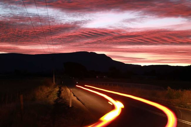 Brake Lights Brake Light At Night At Highway Car Night Photography Night Shoot