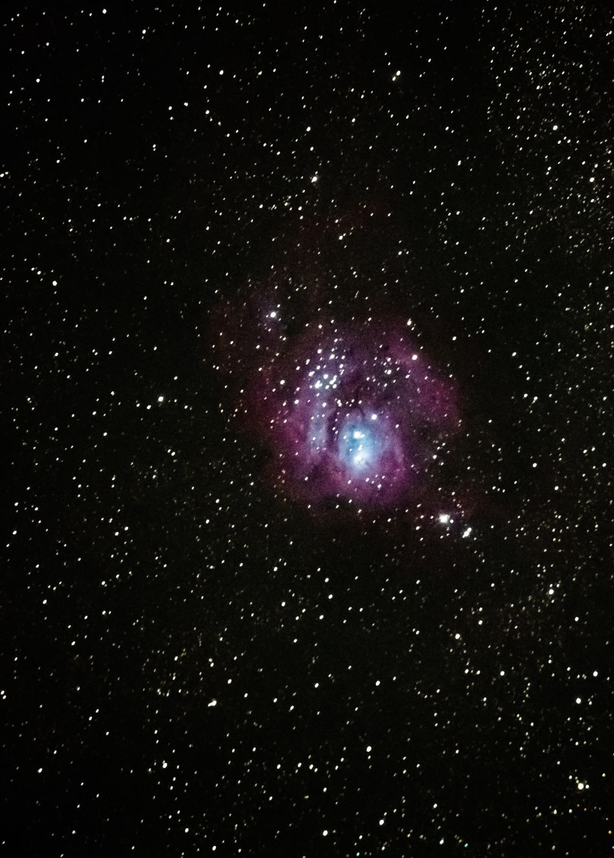 The Amazing Universe ✨💫 Lagoon Nebula (M8). A giant interstellar cloud in the constellation Sagittarius. 4,000 - 6,000 light years from the Earth. Lagoon Nebula Galaxy Nebula Nebulosa Galaxia Astronomy Constellation Space Star Long Exposure 星 星雲 Messier 8 Telescope