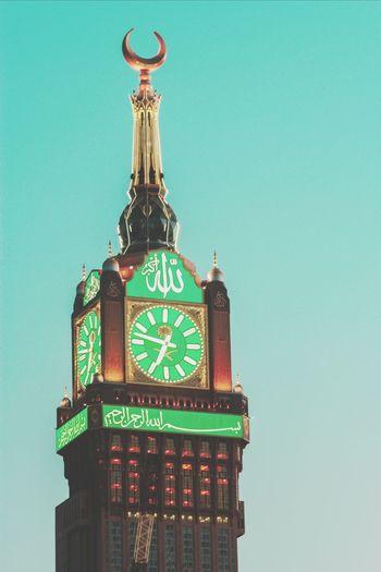 ساعة الحرم تصويري  ساعة مكة Canon مكة المكرمة