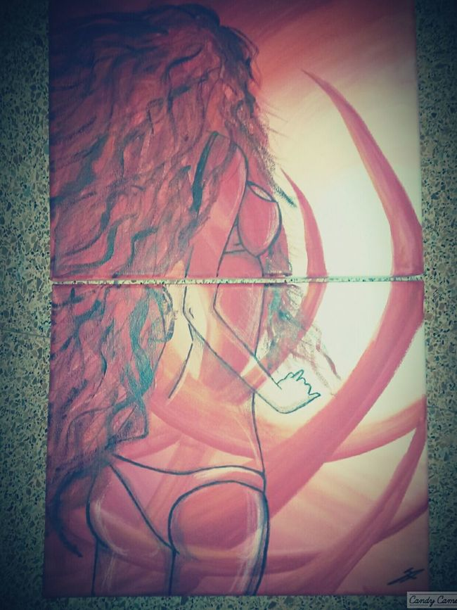 Street Art Freedom Painting Canvas Art Relaxing Time Modaparameninas Hairstyle Hotgirl Hairstyles I'monfire