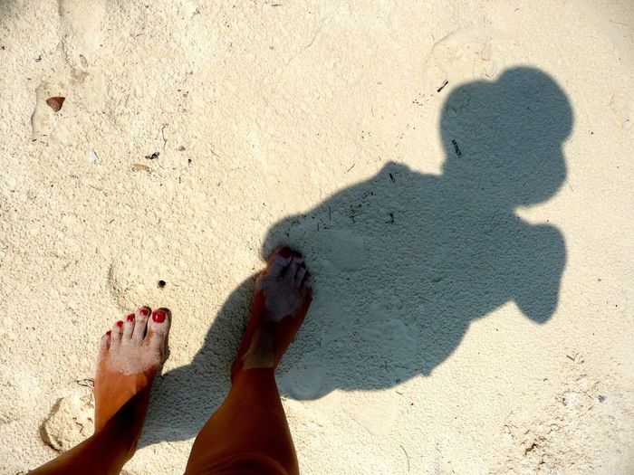 light and shadow Barefoot Beach Human Leg Learn & Shoot: Simplicity Light And Shadow Sand Shadow Shadow Of Woman Summer Woman With Hat Woman's Shadow The Essence Of Summer Summertime Summerlove