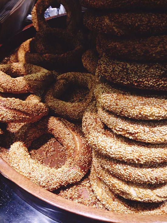 Simit Turkish Turk Turkmutfagi Bread Bakery