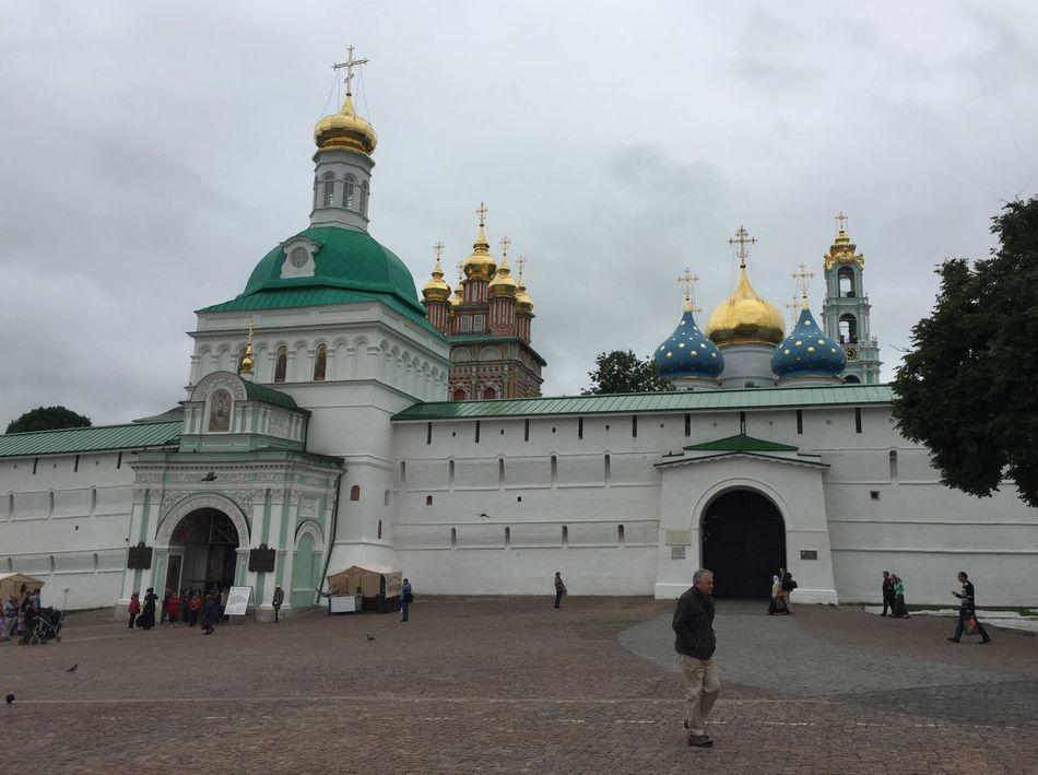 The Trinity Lavra of St. Sergius in Sergiyev Posad Rus2015tc Traveling Church Streetphotography