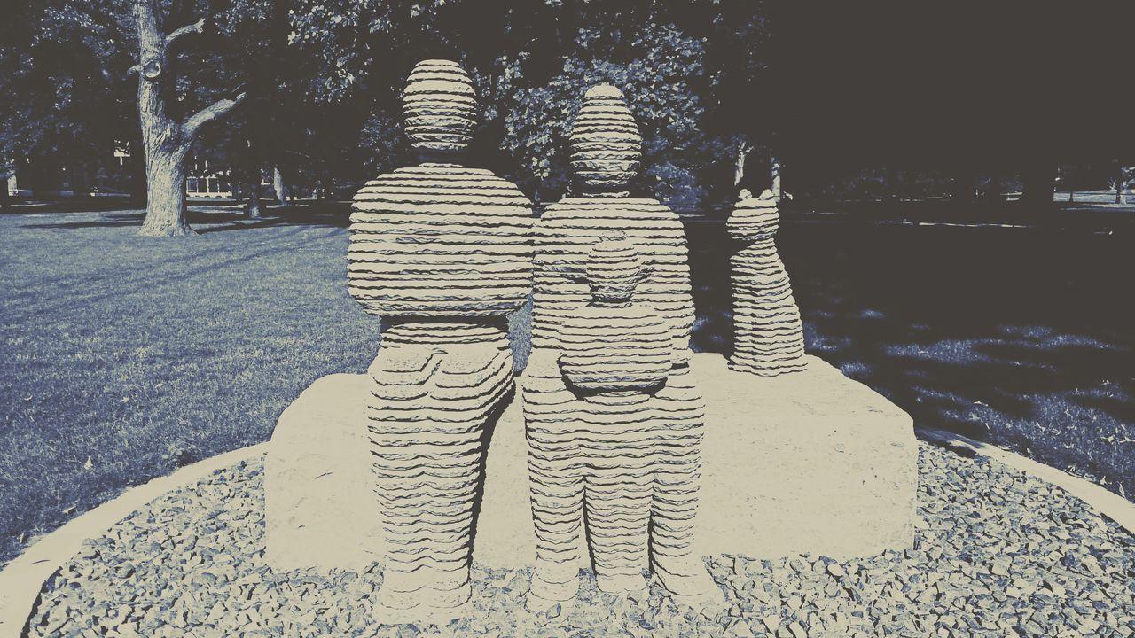 Family Sculpture Art