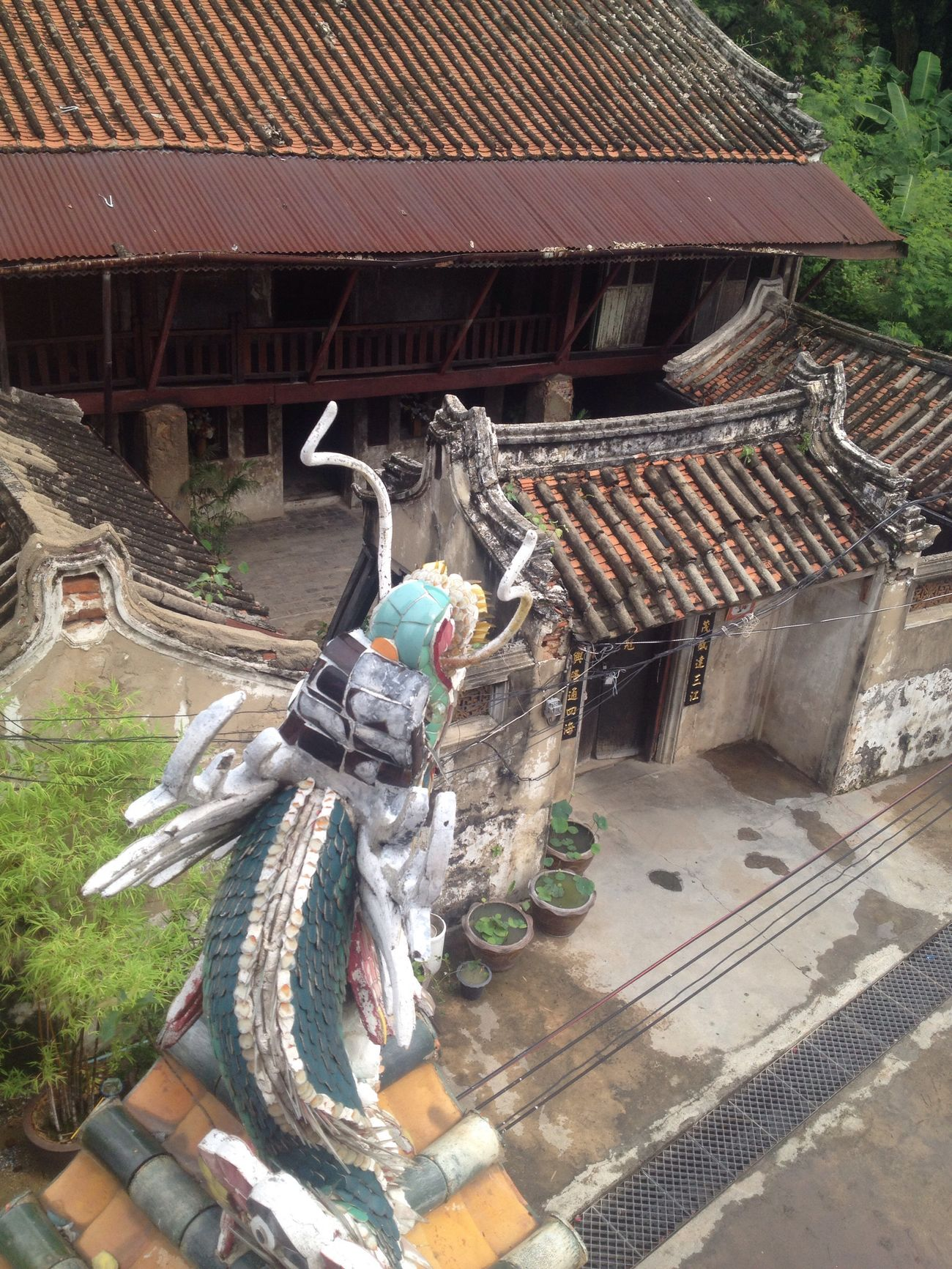Antique House Architecture Roof No People Chinesestyle Veryold