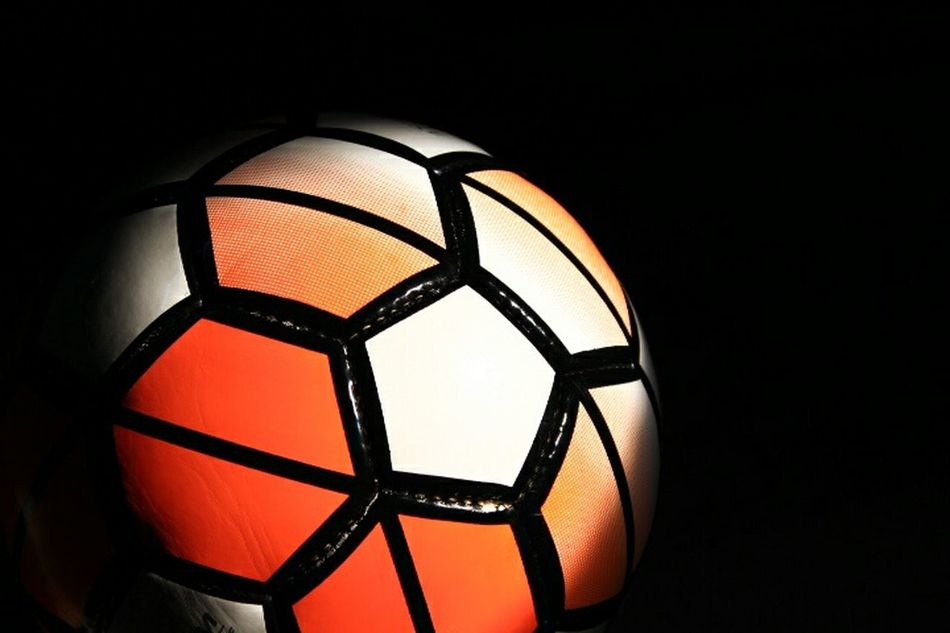 Orange Color Sport Illuminated Close-up Single Object Competitive Sport Horizontal No Edit/no Filter Football Time  Football Football Fever Sports Photography