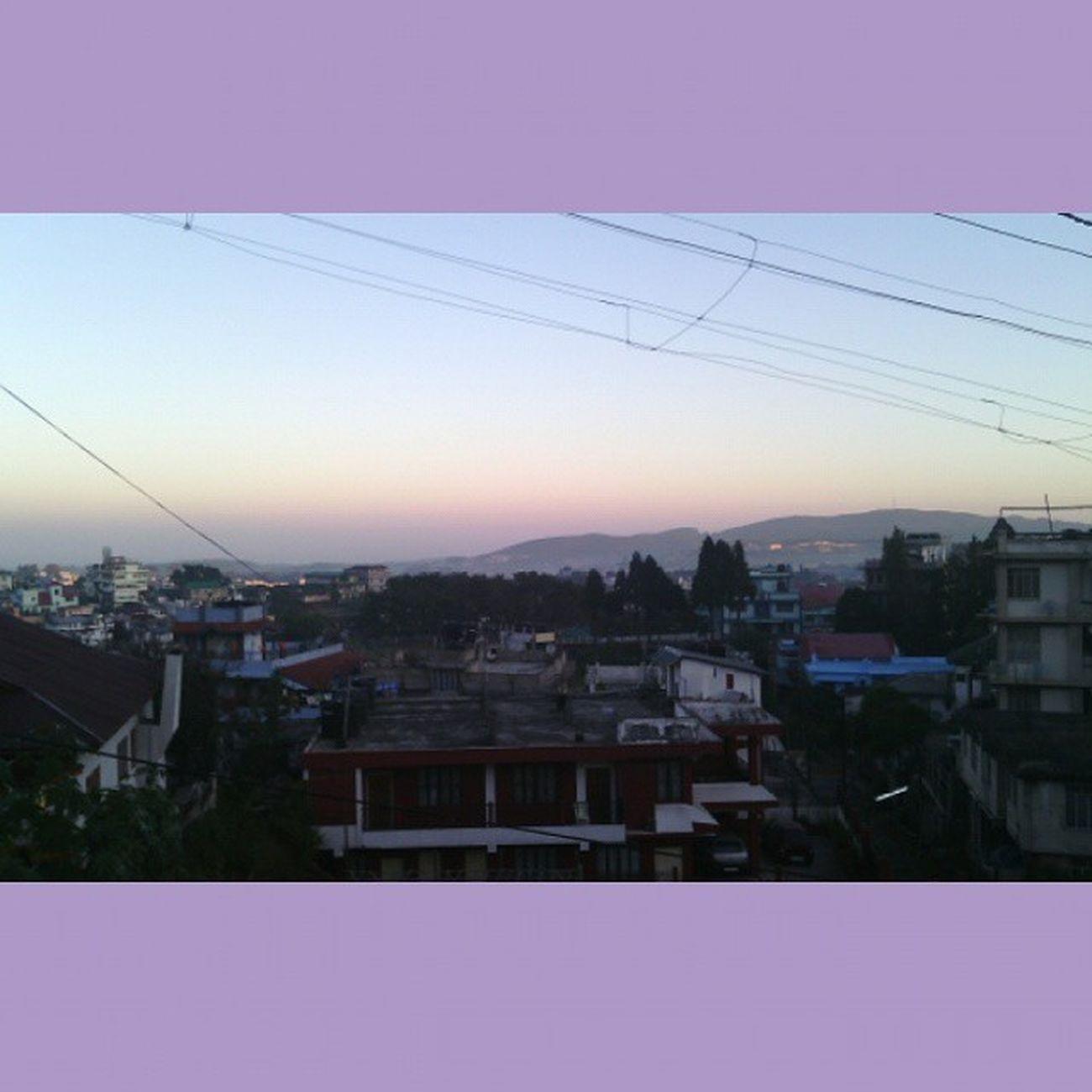 Horizon....5am_skies Nofilter Mawblei