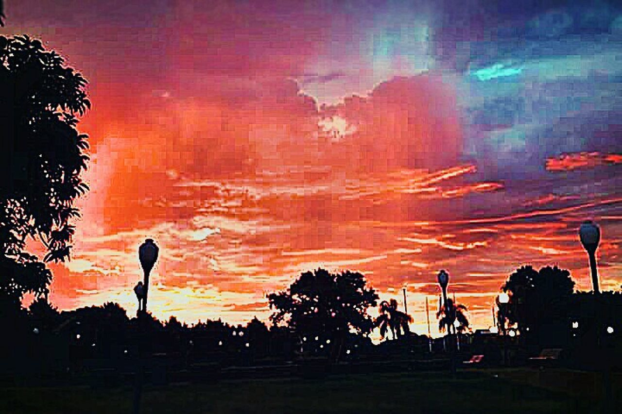 Red Sky Red Sky At Night... Red Sky In The Morning Red Sky And Clouds Red And Blue Colors Red And Black Colour Orange Sky Sunset Dramatic Sky Sunset Silhouette Sky Cloud - Sky Astronomy Nature Outdoors No People