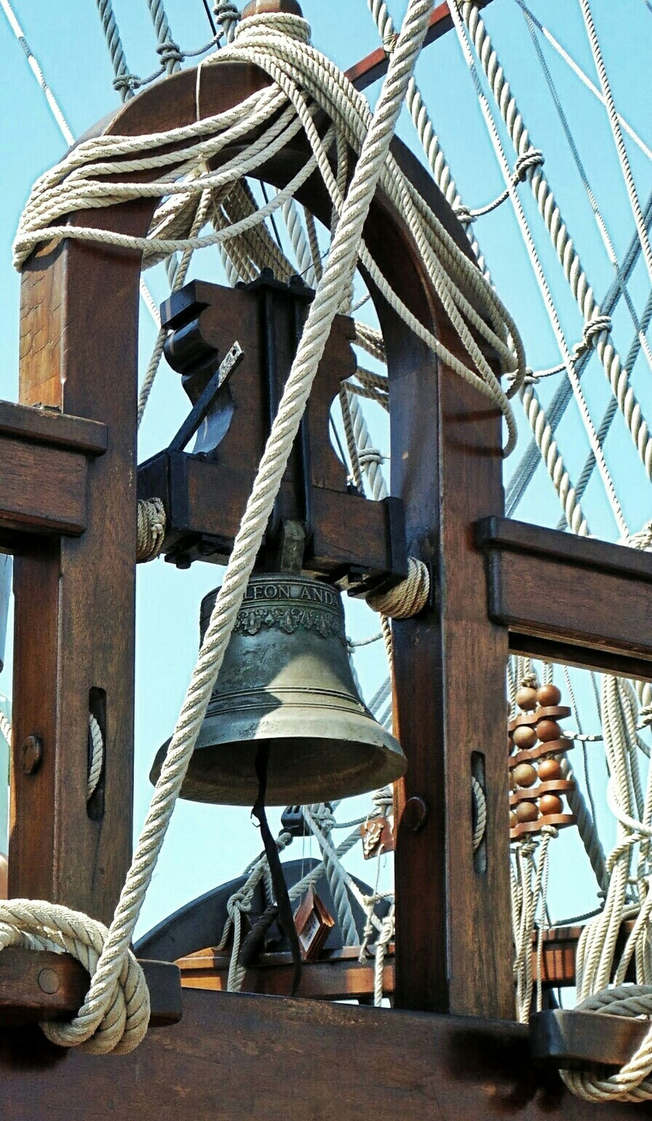 El Galeon's bell Spanish Ship Pirate Ship Ship Bell