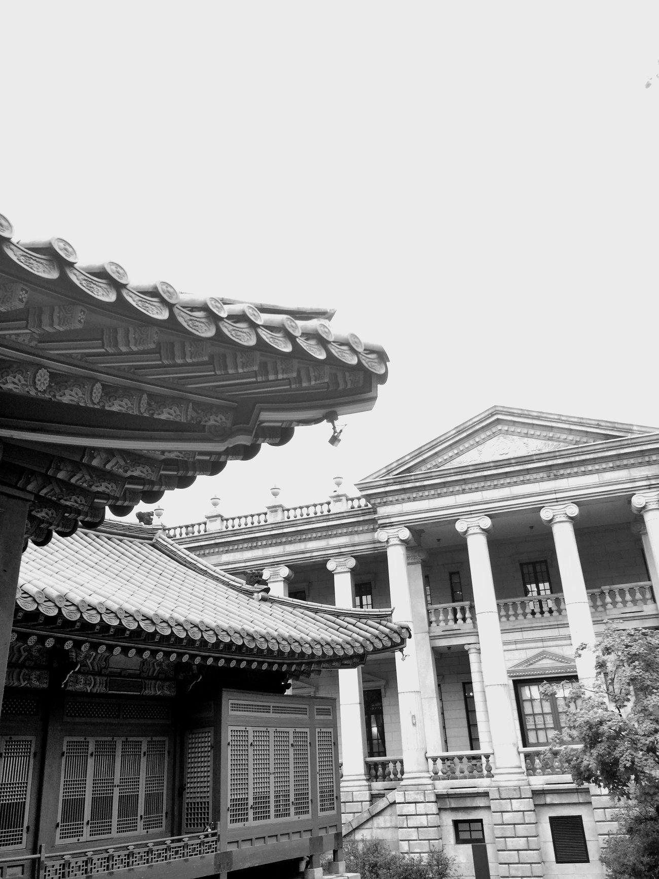 Korea architecture & Western architecture - Collaboration