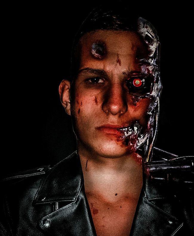The Terminator Terminator Photoshop Epic Photo Manipulation First Eyeem Photo