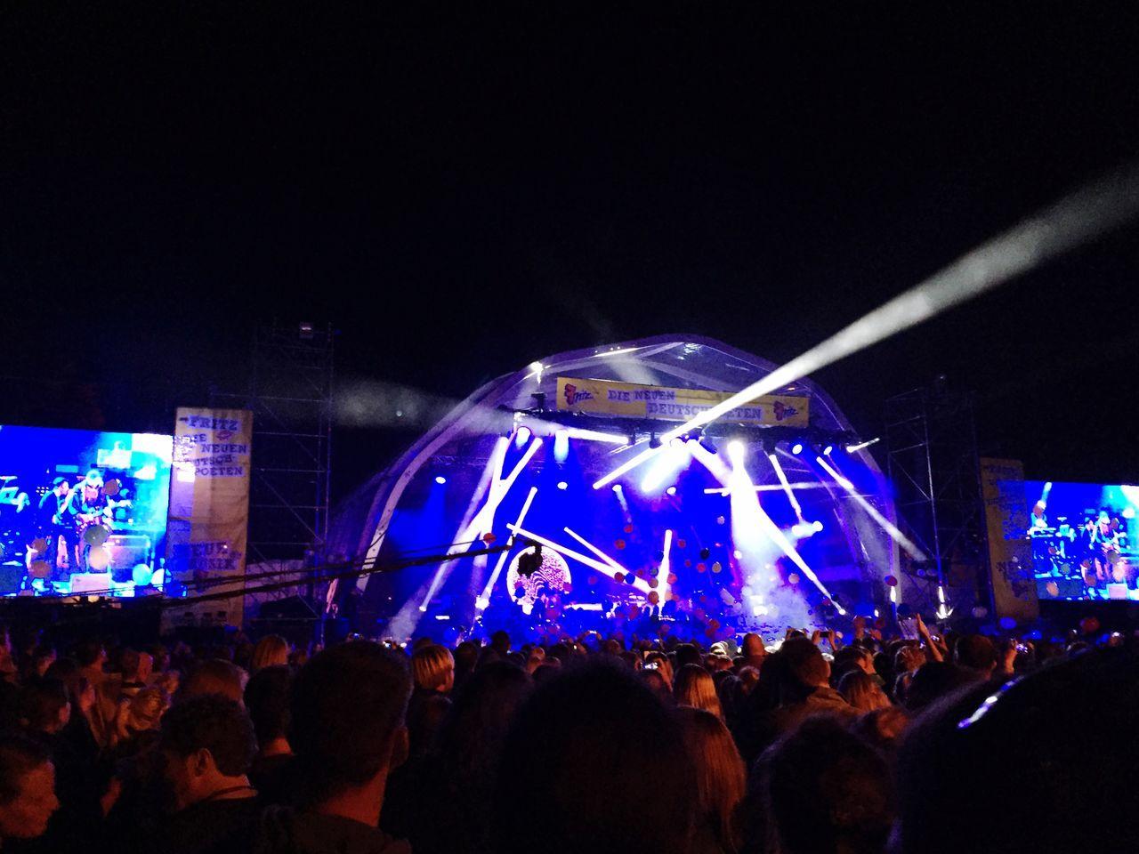 Concert Concert Photography Open Air Blue Lights  Clueso AnnenMayKantereit