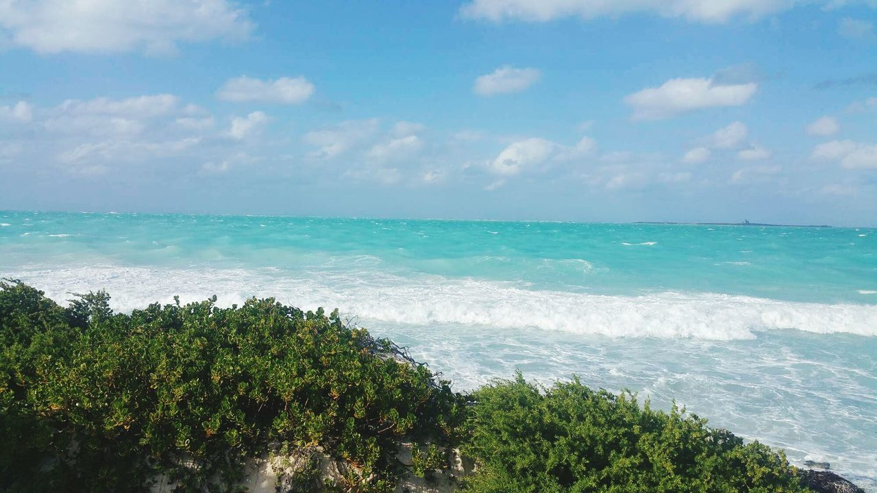 Beach Nature Sea Water Beauty In Nature Horizon Over Water Tropical Climate Vacations Wave Tourism Sand . Travel Destinations CUBA! Cuba Cuba2017
