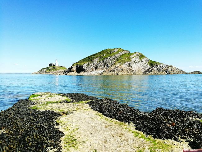 Mumbles, Swansea First Eyeem Photo Summer Sun Beach Beachphotography Sea And Sky Wales Uk Day Rock Formation Shore Mountain Nature Beauty In Nature Sand Vacations Travel Destinations Tranquility Tourism Water My Favourite Place