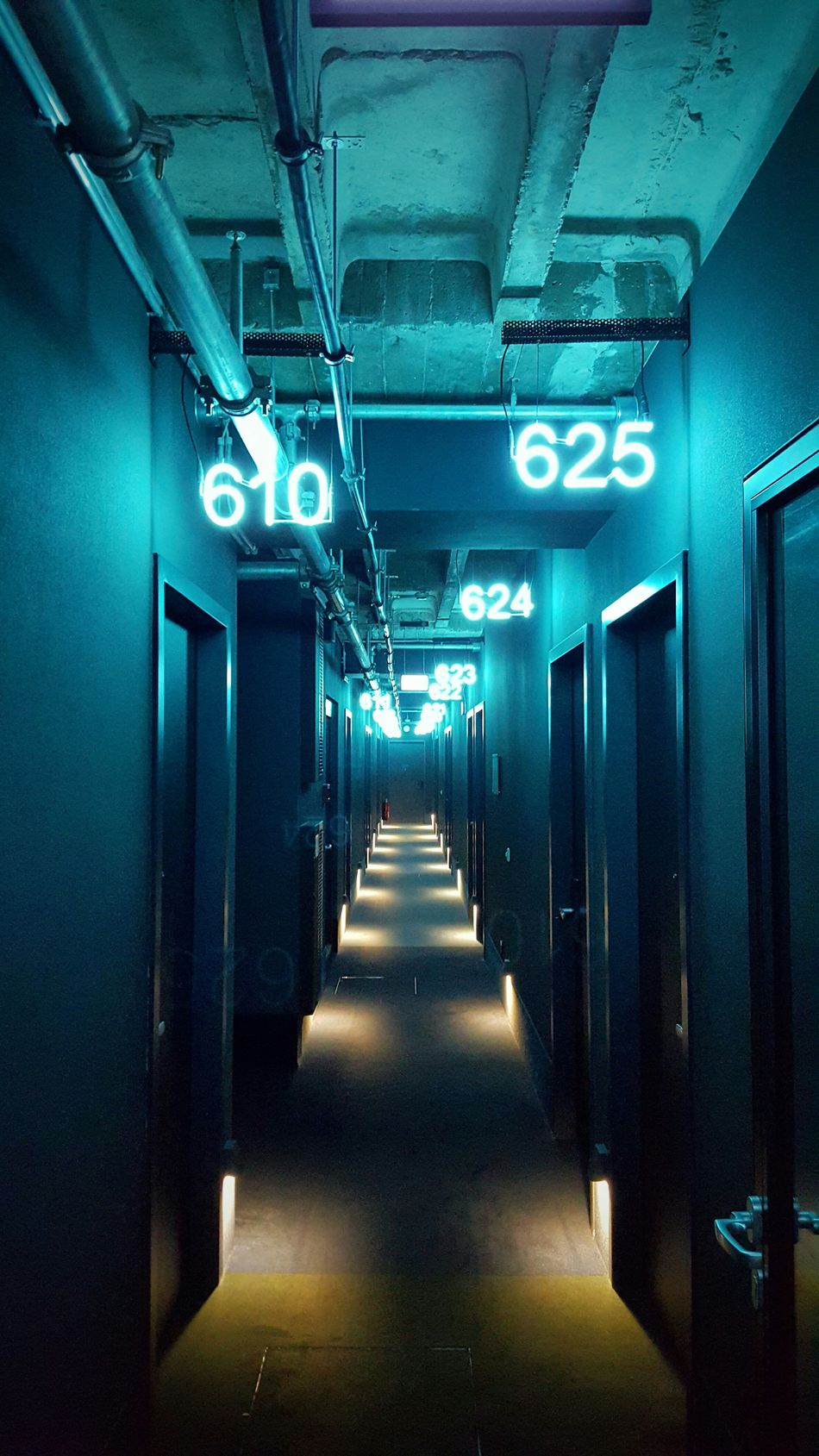 Corridor Hotel Rooms Numbers