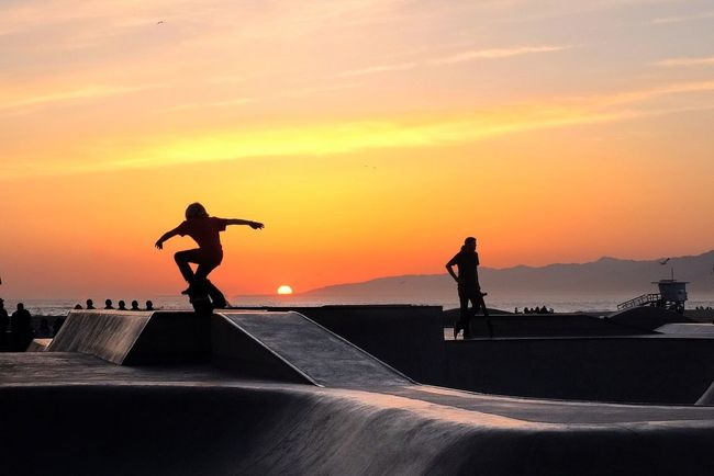 Skateboarding at California Skateboarding