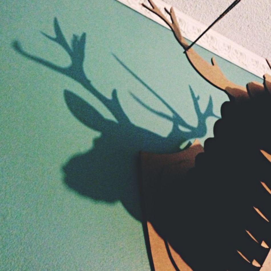 Oh, hello deer! Deer Interiordesign Interior Interior Design Deerhead Deer Head