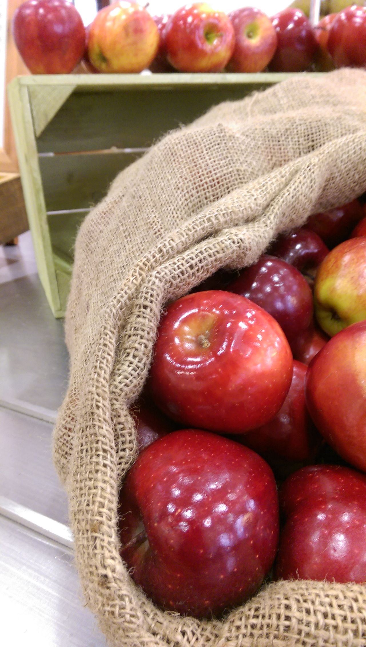 Apples Bag Of Red A Crate Of A Crate Of Red A Hessian Bag Of Red A Hessian Sack Of A Hessian Sack Of Red A Red Apples Sack Of Red A