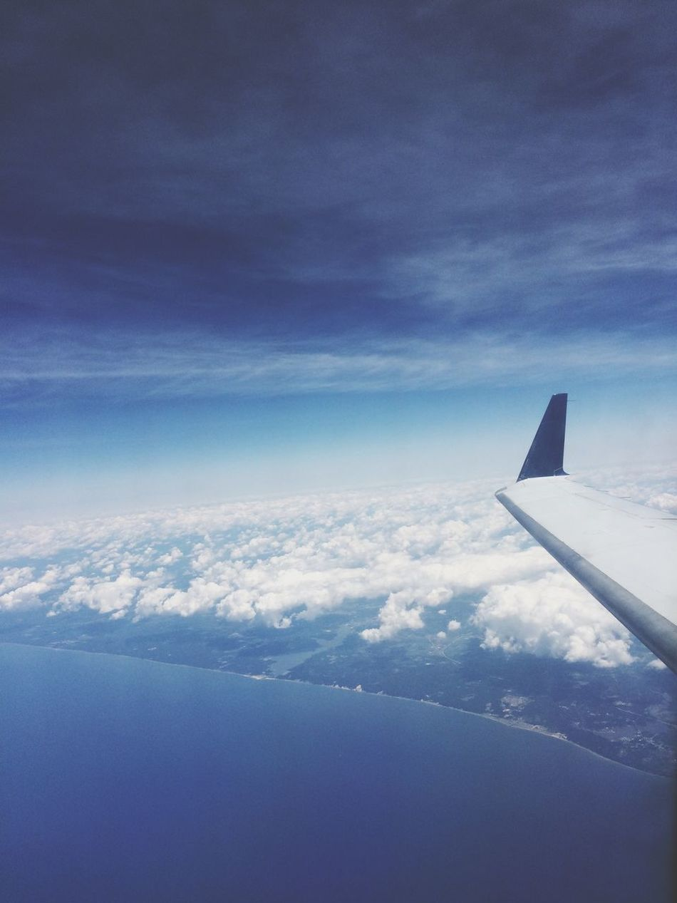 Amazing View From The Plane Window