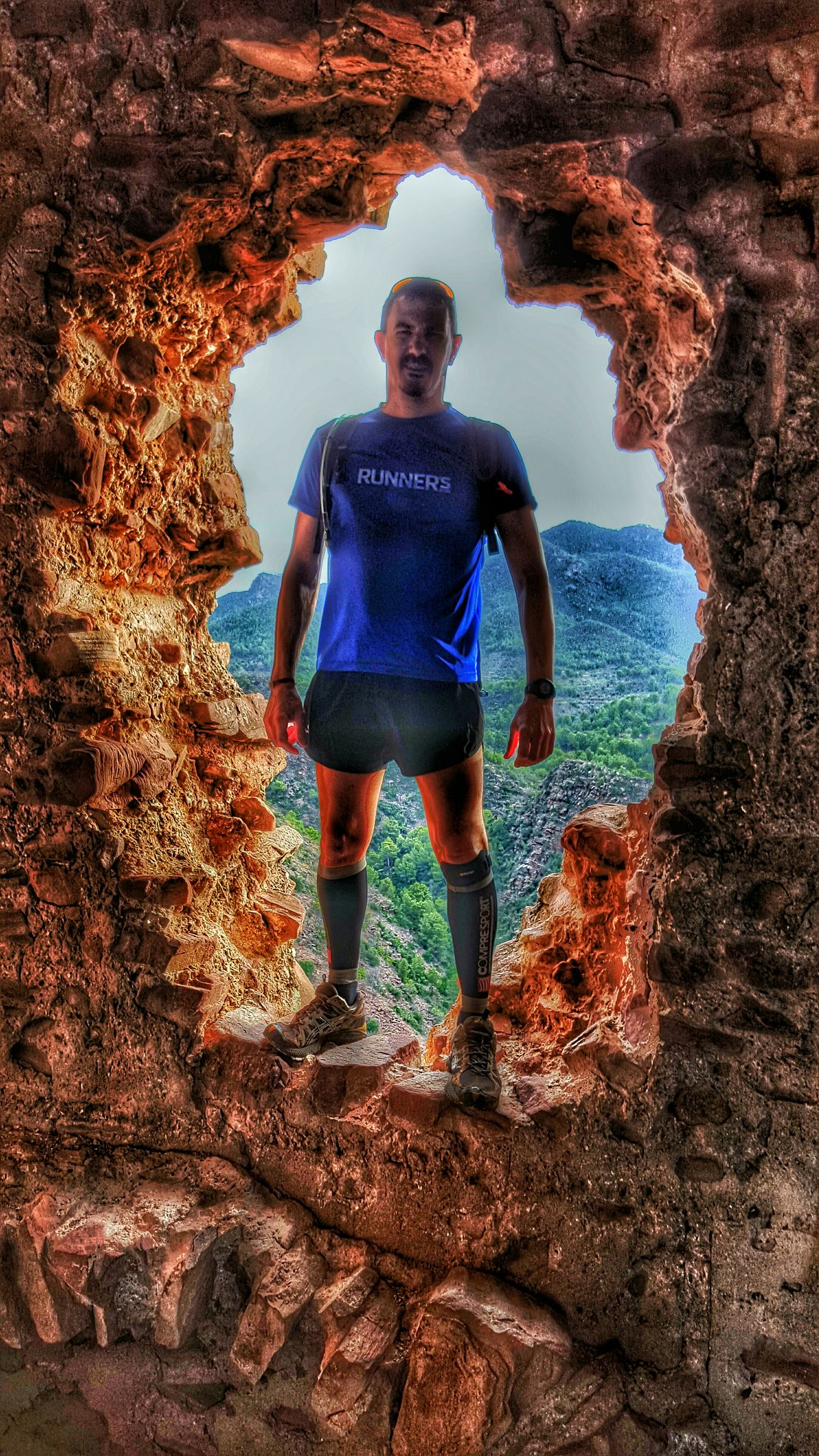 Trail Running Running Montain  MontanaCastel Trailrunning València SPAIN Goingthedistance Going The Distance castillo Sierra Calderona