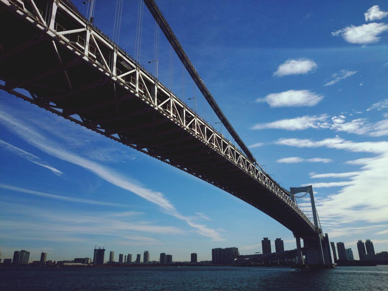 Tokyo Tokyo,Japan Rainbow Bridge Bridge