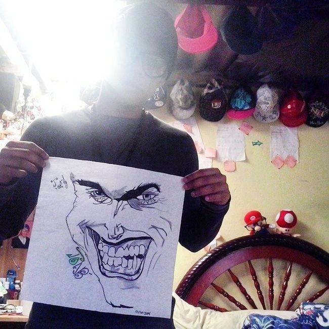 YO SOY La Mente Detras Del Lapiz I'am La Mente Detras Del Lapiz Dibujo A Lapiz Art, Drawing, Creativity Drawingtime Mis Dibujos Dibujo Drawing The Joker Artistic