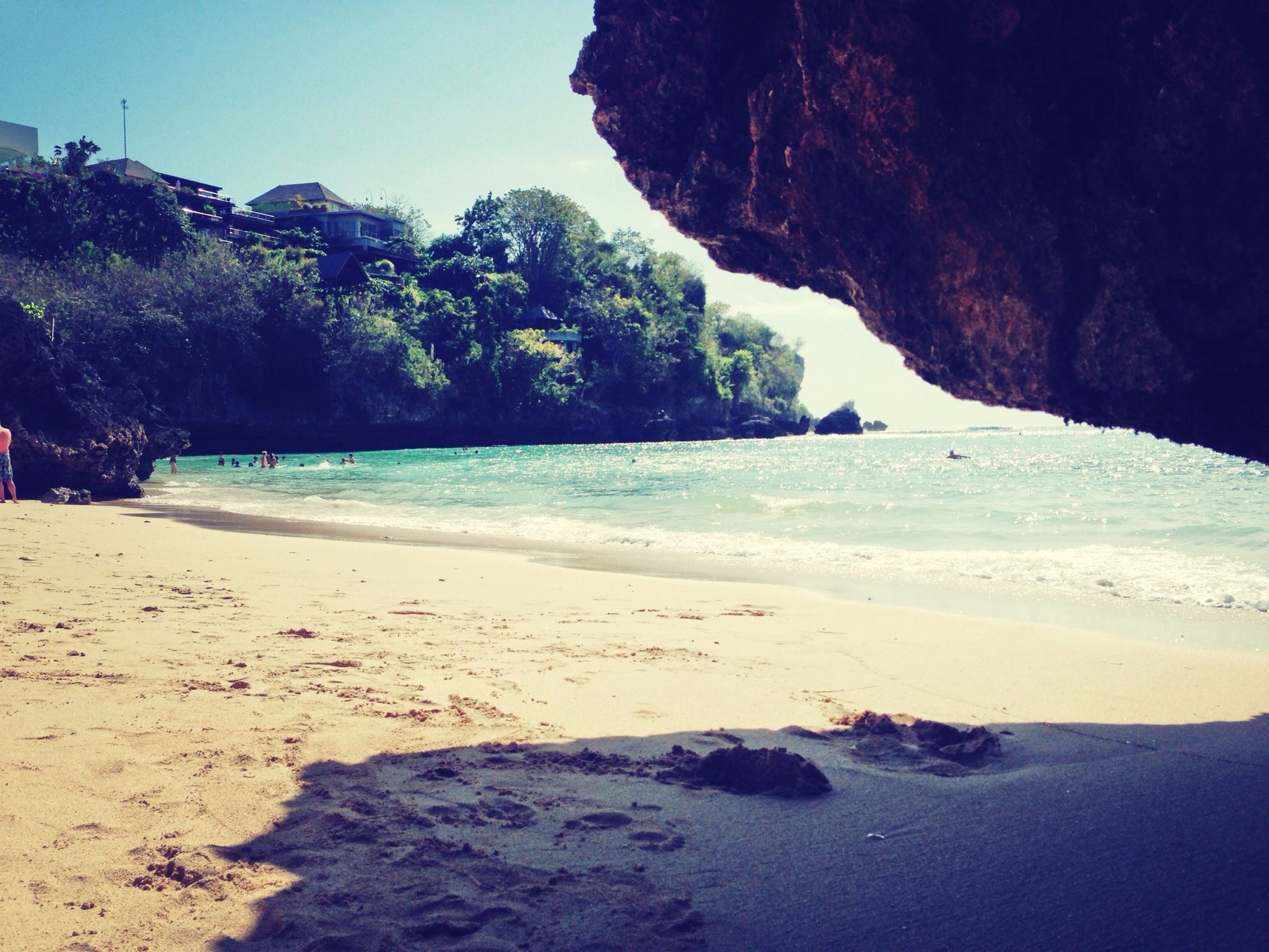 Traveling @ Padang Padang Beach - Bali