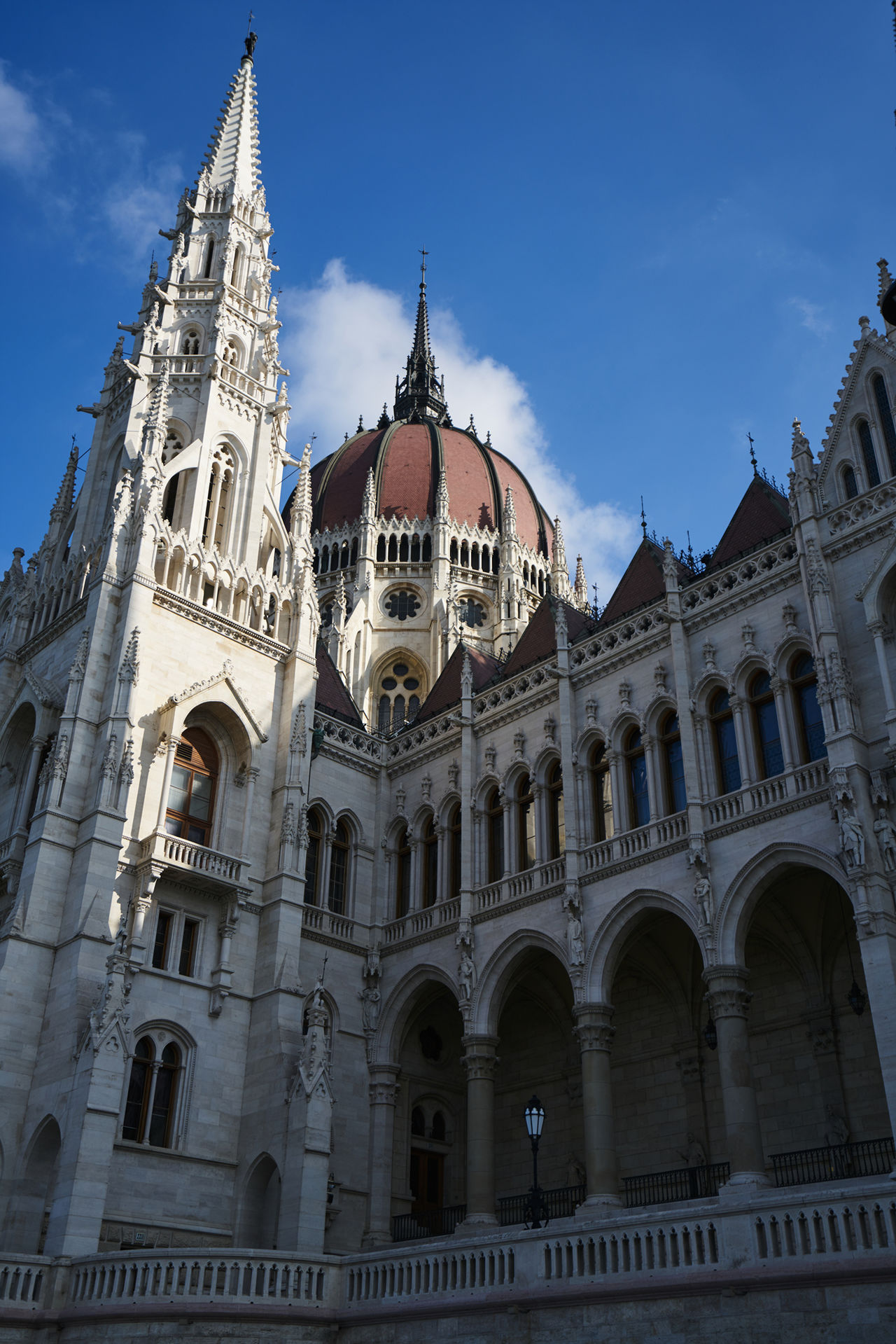 Travel Destinations Politics And Government Architecture Government Gothic Style Building Exterior City No People Outdoors Sky Day Hungary Budapest Orszaghaz
