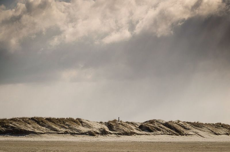 Beach Dune Enjoying Life Landscape