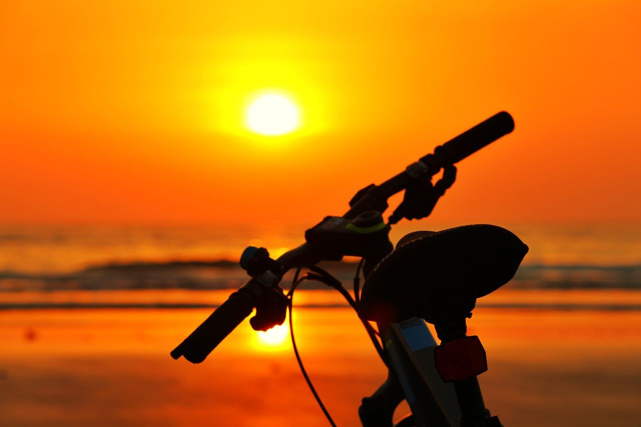 CYCLING🚴 Sunset Silhouette Orange Color Outdoors Sky Beauty In Nature Nature Water No People Night Animal Themes City India Mumbai Photographer Getty Images Copyright Photography Summertime Cyclists Cyclephotography Amazing_captures The Great Outdoors - 2017 EyeEm Awards The Architect - 2017 EyeEm Awards The Street Photographer - 2017 EyeEm Awards Break The Mold
