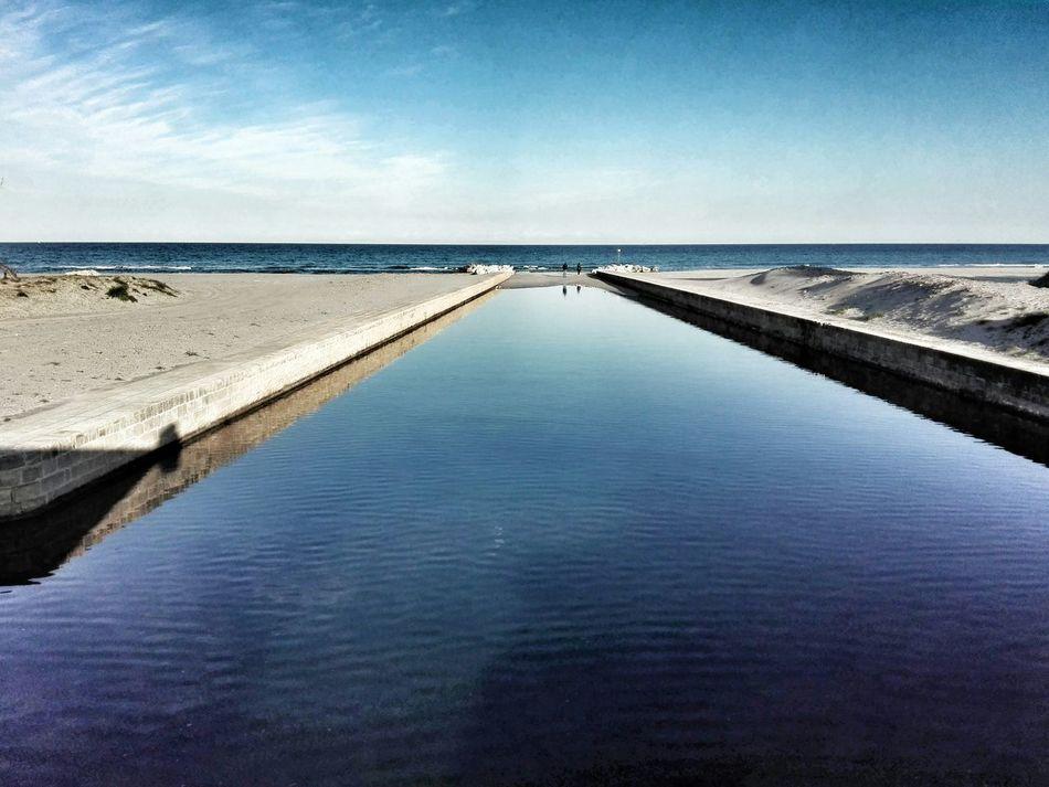 I luoghi dei ricordi Mare Sea Alimini Salento Puglia Italia Italy Landscape Riflessi Ricordi Beach Spiaggia Orizzonte Horizon Cielo Sky
