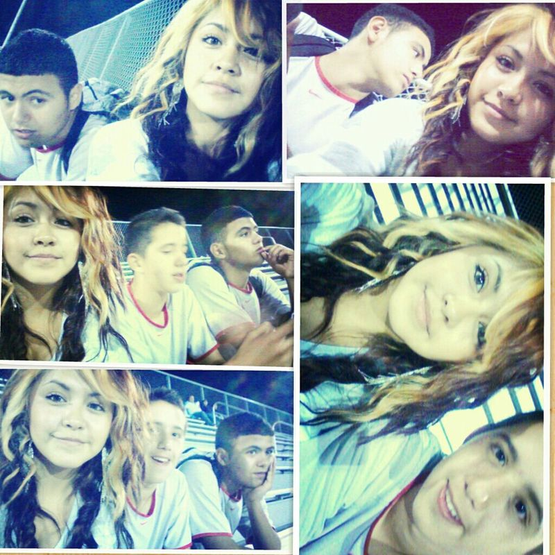 yesterday (; chilling with my nigglets !